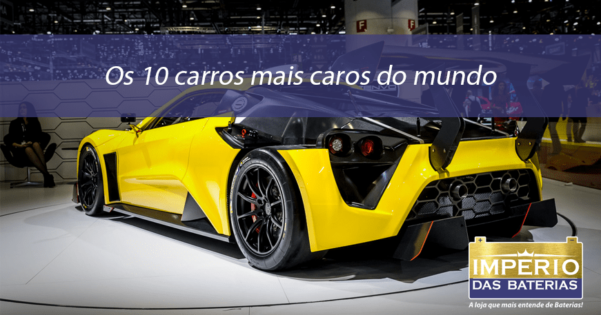 Os 10 carros mais caros do mundo