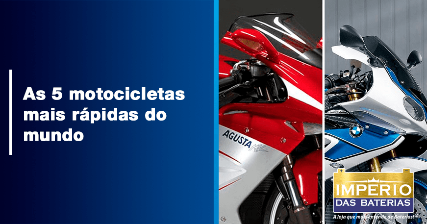 As 5 motocicletas mais rápidas do mundo